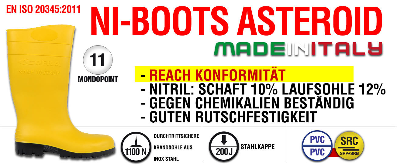 545ba085687 NI-BOOTS ASTEROID - - Produkte - COFRA Safety footwear Workwear PPE
