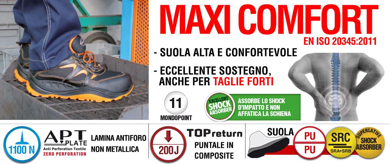 MAXI COMFORT Calzature Prodotti COFRA