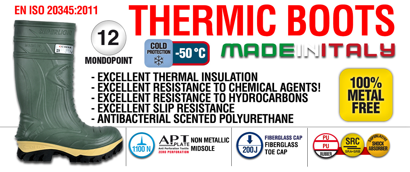 THERMIC BLACK S5 CI HRO CR AN M SRC THERMIC BOOTS